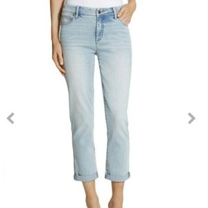 CHICO'S | So Slimming Girlfriend Crop Jeans - 1.5